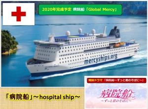 「病院船」~hospital ship~