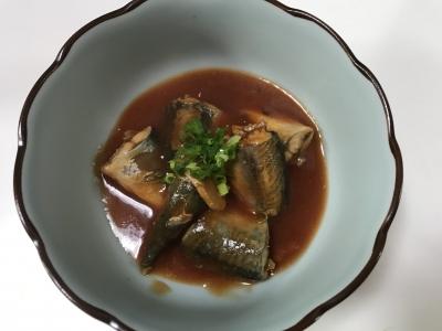 サバのケチャップ煮