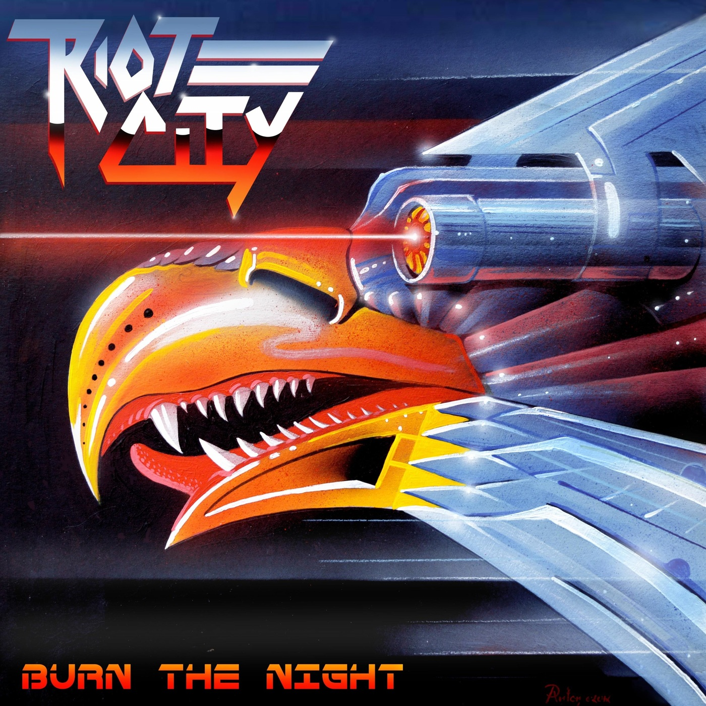 BURN THE NIGHT / RIOT CITY