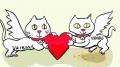 龍猫がキューピット (2)