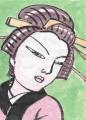 日本髪笄丸髷
