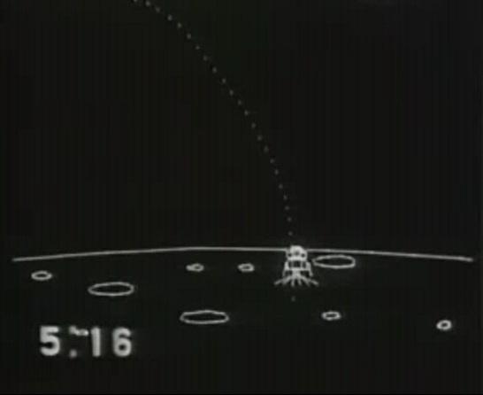 19690721アポロ11号着陸寸前