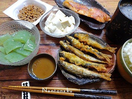 NANTONAKU 07ー01 地味な食事 2