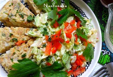NANTONAKU 07ー15 前の日の残り物をランチで食べます 2