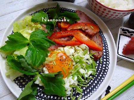 NANTONAKU 07ー16 実家からのお中元を食べるランチ 2