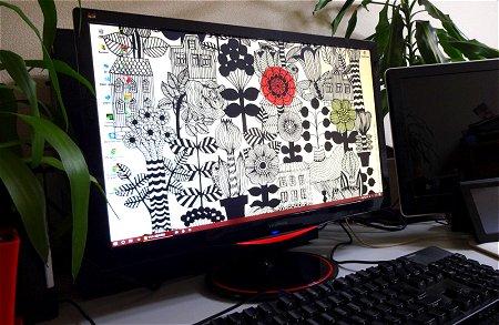 ViewSonic VX2458-MHD-7 marimekko