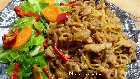NANTONAKU 09-15 楽しん作る Myオリジナル焼きそば2種 4