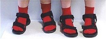 赤い靴下 で