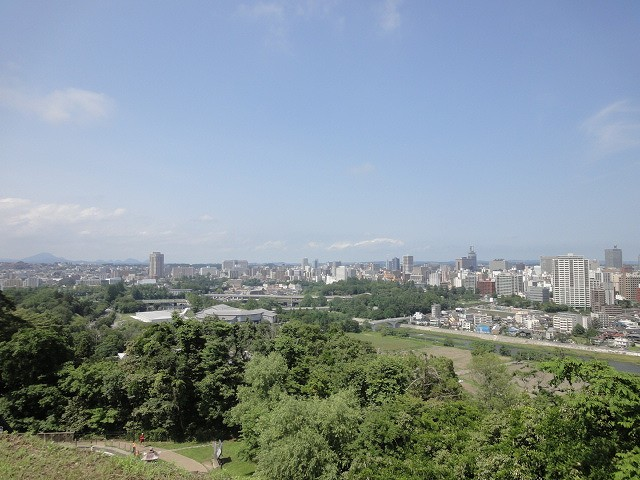 仙台城 景色