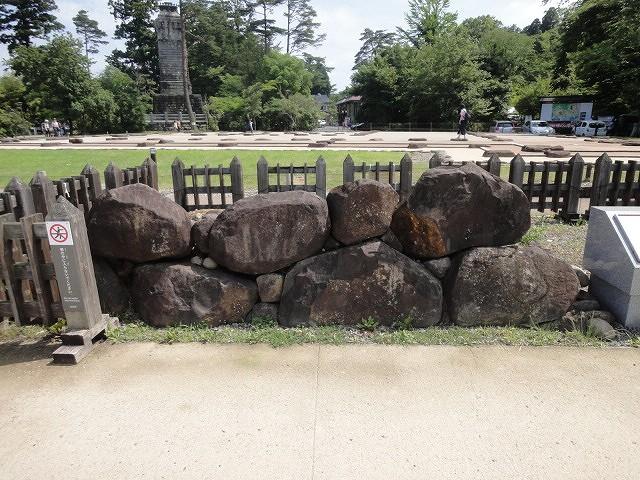 築城期の石垣モデル