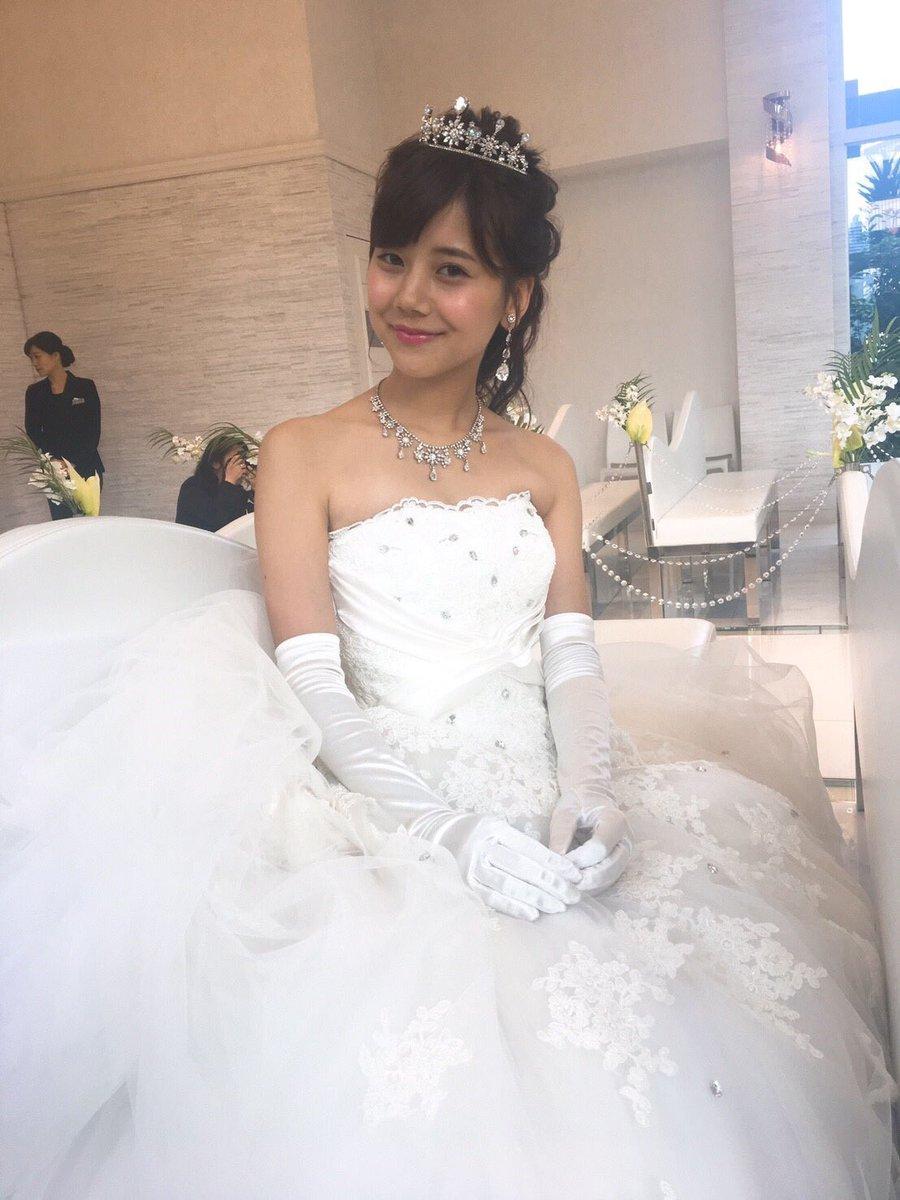 今井美桜 2017ミス青山 2019 ウェディングドレス 済み