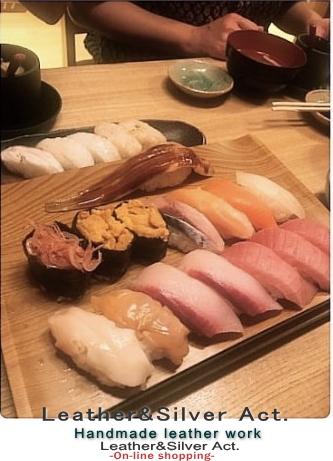 銀座のお寿司