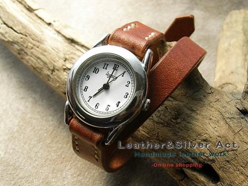 レザーブレス 時計
