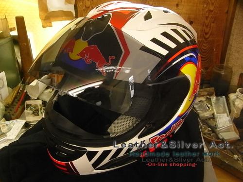 レットブル ヘルメット オンロード