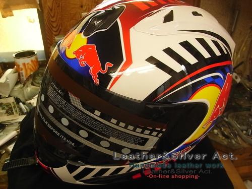 レットブル ヘルメット