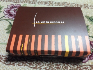 チョコレートを貰いました