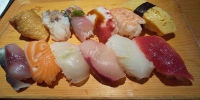 上本町お寿司ランチ