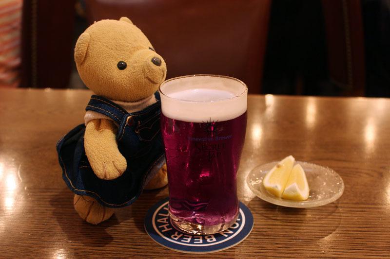 Brew#004 レモンを入れる前 ライオン銀座五丁目店 190810
