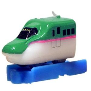 プラレールキャンドル 新幹線はやぶさ