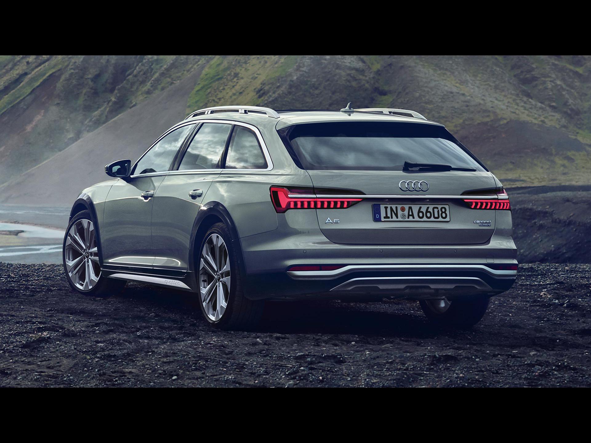Audi A6 allroad quattro 2020 - アウディに嵌まる - 壁紙画像ブログ
