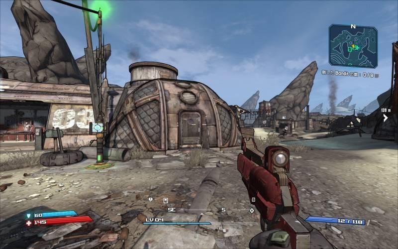 PC ゲーム Borderlands GOTY Enhanced ゲームプレイ最適化メモ、ReShade 4.3.0 プリセットなし、最高設定のグラフィック設定(FXAA オン、DoF オフ)