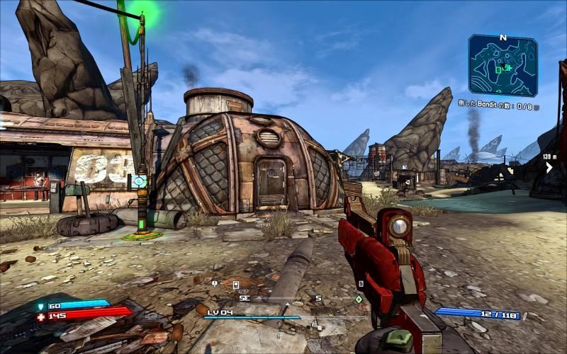 PC ゲーム Borderlands GOTY Enhanced ゲームプレイ最適化メモ、ReShade 4.3.0 プリセット Better Looking Borderlands Reshade(FXAA オフ、DoF オフ)