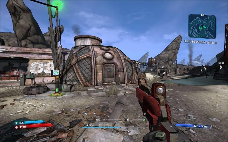 PC ゲーム Borderlands GOTY Enhanced ゲームプレイ最適化メモ、ReShade 4.3.0 プリセット Clearview Enhanced(FXAA オフ、DoF オフ)