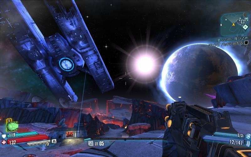 PC ゲーム Borderlands The Pre-Sequel ゲームプレイ最適化メモ、ReShade 4.3.0 プリセットなし、スクリーンショット(DoF オフ)