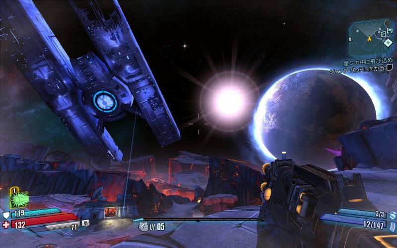 PC ゲーム Borderlands The Pre-Sequel ゲームプレイ最適化メモ、ReShade 4.3.0 プリセット PhotorealisticBorderlandsPreSequel(DoF オフ) スクリーンショット