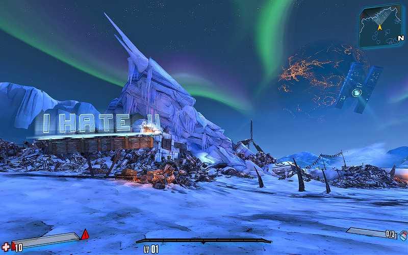 PC ゲーム Borderlands 2 GOTY ゲームプレイ最適化メモ、ReShade 4.3.0 プリセット BetterLands Reshade Brightness Tweaked(DoF オフ) スクリーンショット