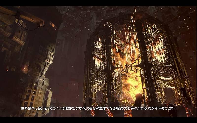 PC ゲーム Styx Master of Shadows 日本語化メモ、ムービー字幕サイズ改善フォントファイル JPFont.upk 差し替え後のスクリーンショット