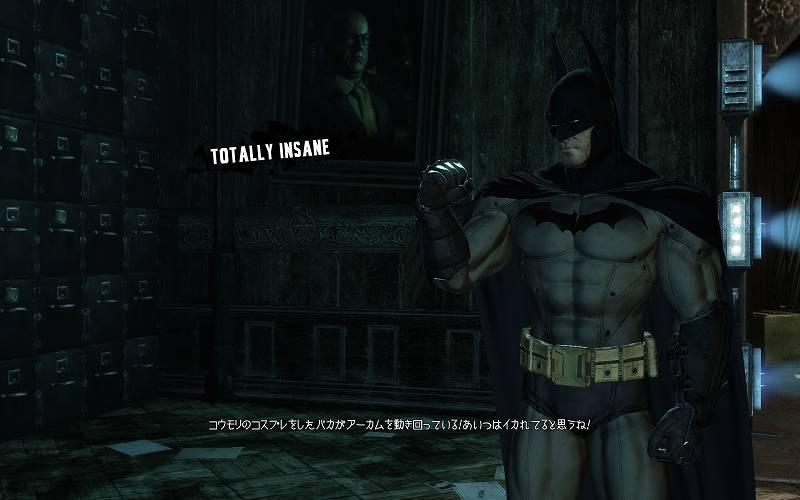 PC ゲーム Batman: Arkham Asylum GOTY Edition 日本語化とゲームプレイ最適化メモ、その他 - Batman: Arkham Asylum GOTY Edition - DLC 字幕日本語化方法、ダウンロードコンテンツ Totally Insane 日本語字幕