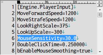 PC ゲーム Batman: Arkham City GOTY Edition 日本語化とゲームプレイ最適化メモ、マウス感度変更方法、%USERPROFILE%\Documents\WB Games\Batman Arkham City GOTY\BmGame\Config フォルダにある BmInput.ini を開き、6行目にある MouseSensitivity の値(デフォルト値 30.0)を変更