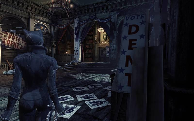 PC ゲーム Batman: Arkham City GOTY Edition 日本語化とゲームプレイ最適化メモ、Arkham City - V5 Reshade Presets プリセット 3 - MAIN.ini スクリーンショット