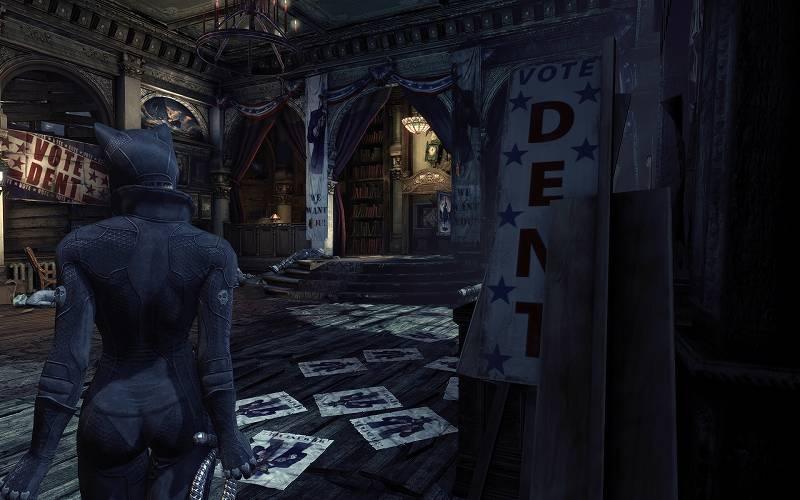 PC ゲーム Batman: Arkham City GOTY Edition 日本語化とゲームプレイ最適化メモ、Arkham City - V5 Reshade Presets プリセット 5 - LightMode.ini スクリーンショット
