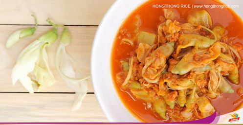 Sour-soup with Dok Kae