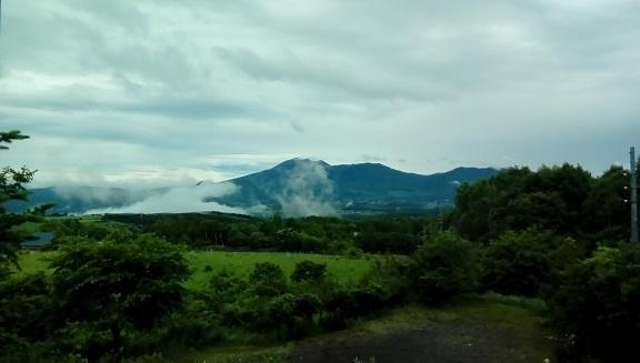 浅間山です。 6月28日
