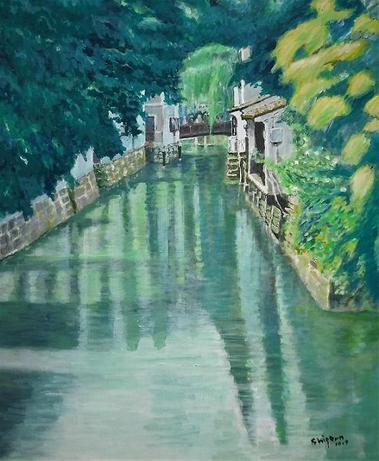 『運河(蘇州)』 浦田 繁