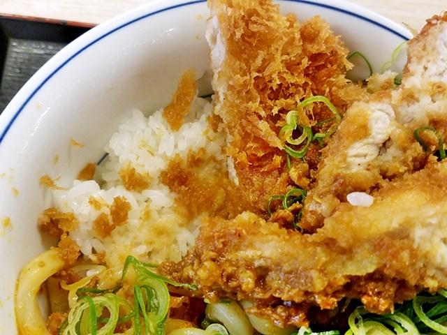 カレーうどんチキンカツ丼1-5