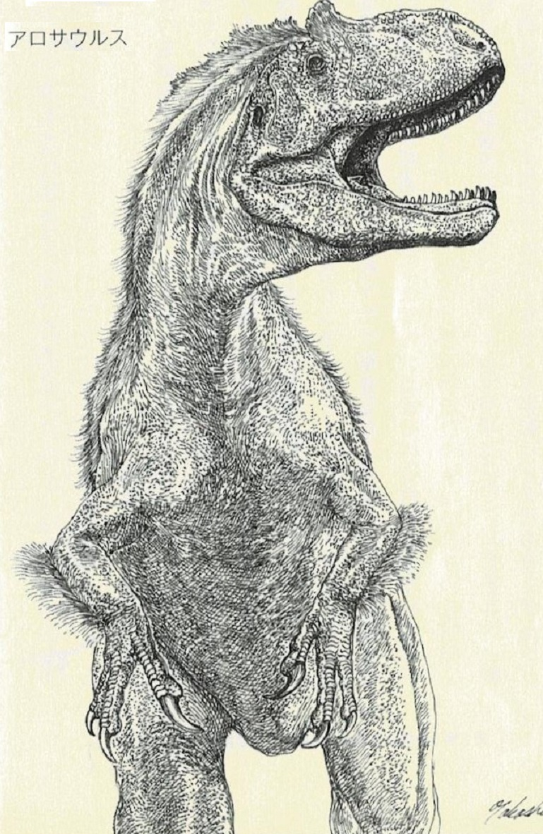 アロサウルス 001 (2)