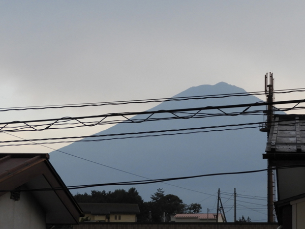 二階から富士山