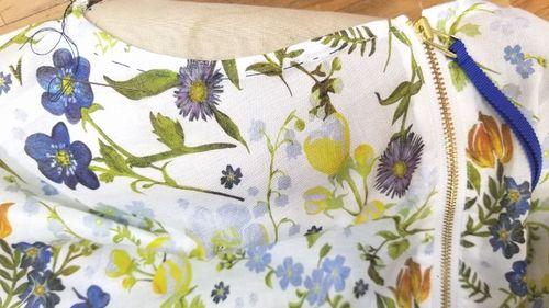 リバティフレンチ衿ぐり身幅袖8