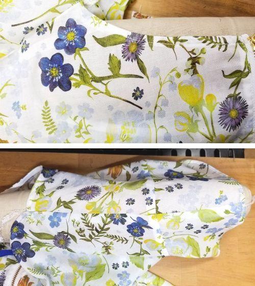 リバティフレンチ衿ぐり身幅袖9