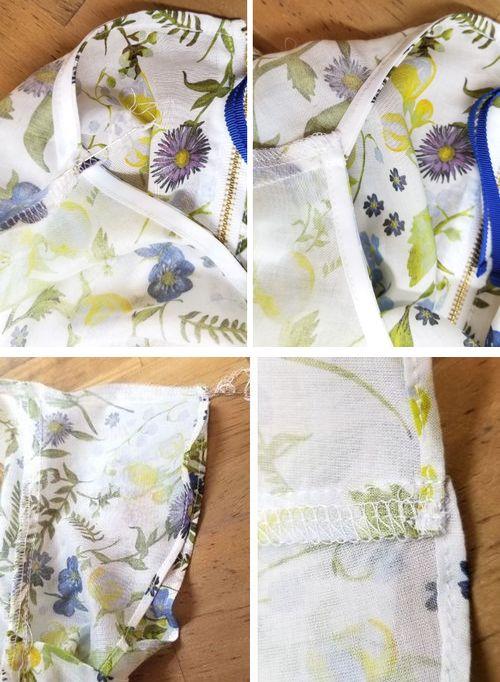 リバティフレンチ衿ぐり身幅袖10
