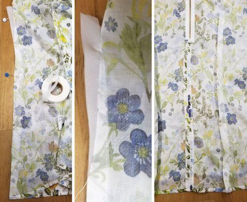 リバティフレンチ衿ぐり身幅袖11