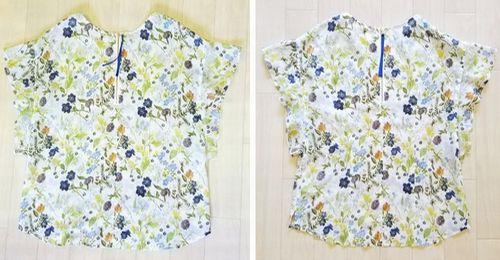 リバティフレンチ衿ぐり身幅袖14