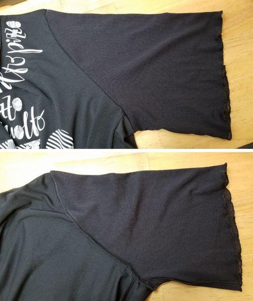 Tシャツ幅出し11