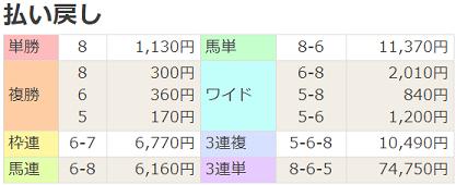 190629函館9R払戻