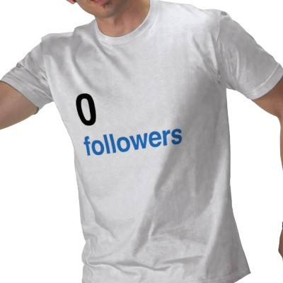 0 followers Tシャツ