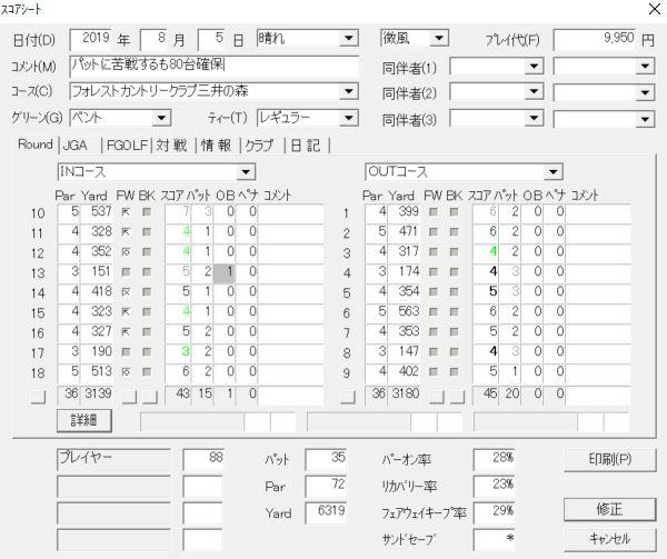 20190805フォレスト三井の森